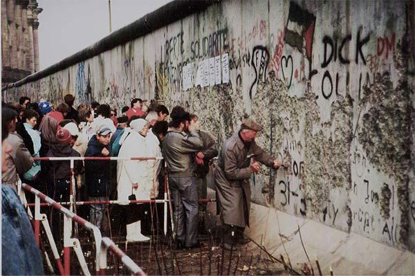 Caída Muro Berlín 1989