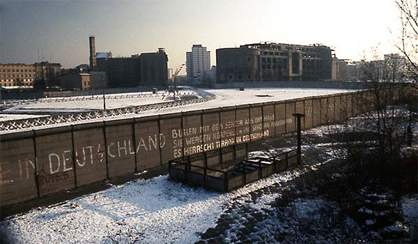 Muro de Berlín Postdamer Platz