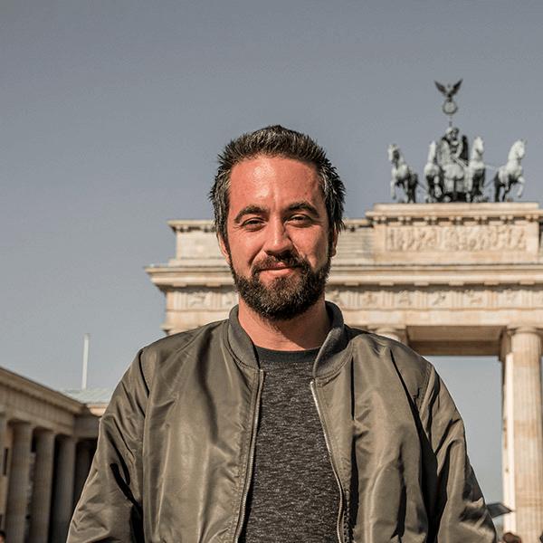 Guía tour Berlín Andrés